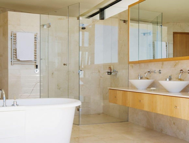 Ein saniertes Bad
